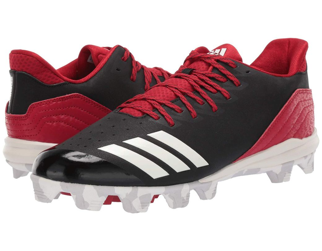 4eaf876c4bd46 Lyst - adidas Icon 4 Md (black cloud White carbon) Men s Cleated ...