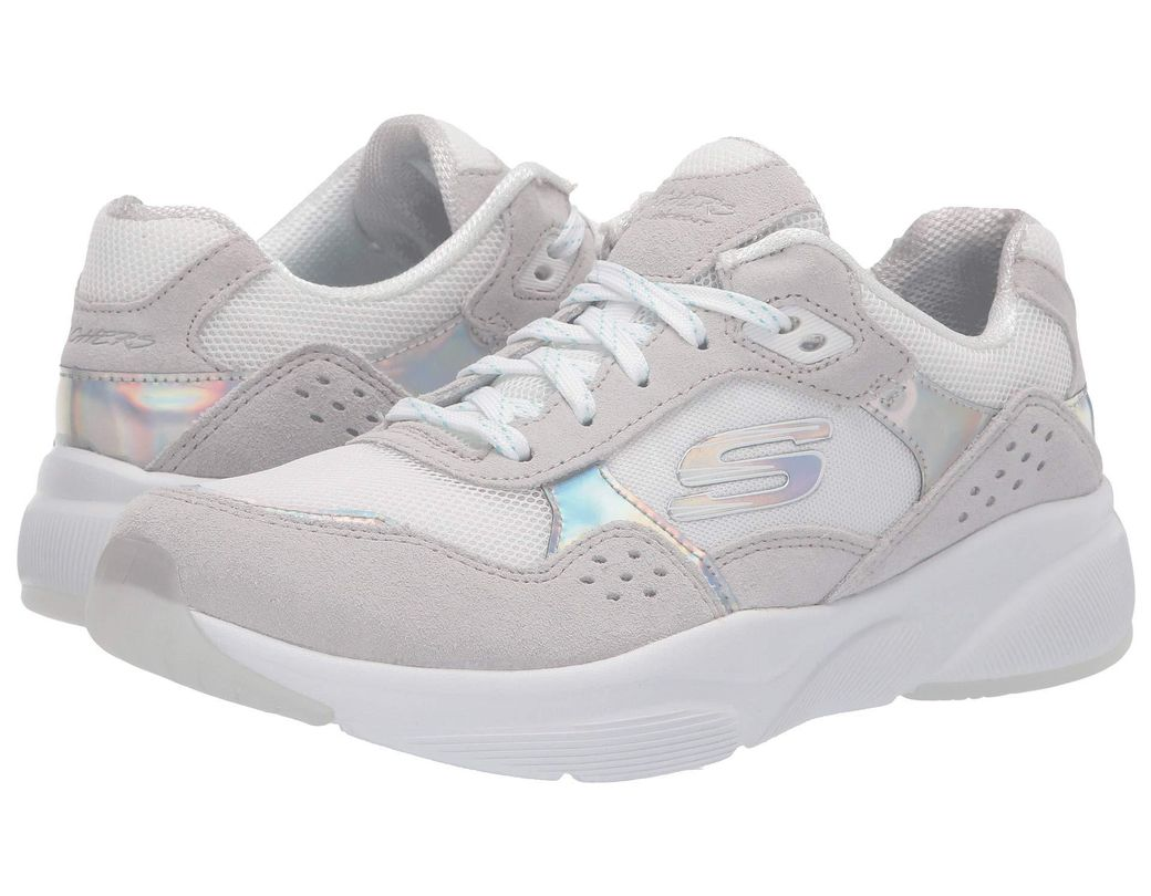82812bd69768 Skechers. White Meridian - No Worries (black Multi) Women s Lace Up Casual  Shoes