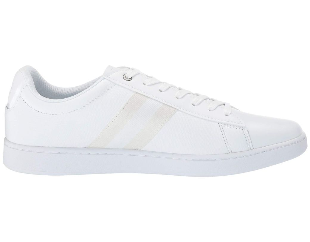 ae7672d30 Lyst - Lacoste Carnaby Evo 119 5 Sma (white white) Men s Shoes in White for  Men