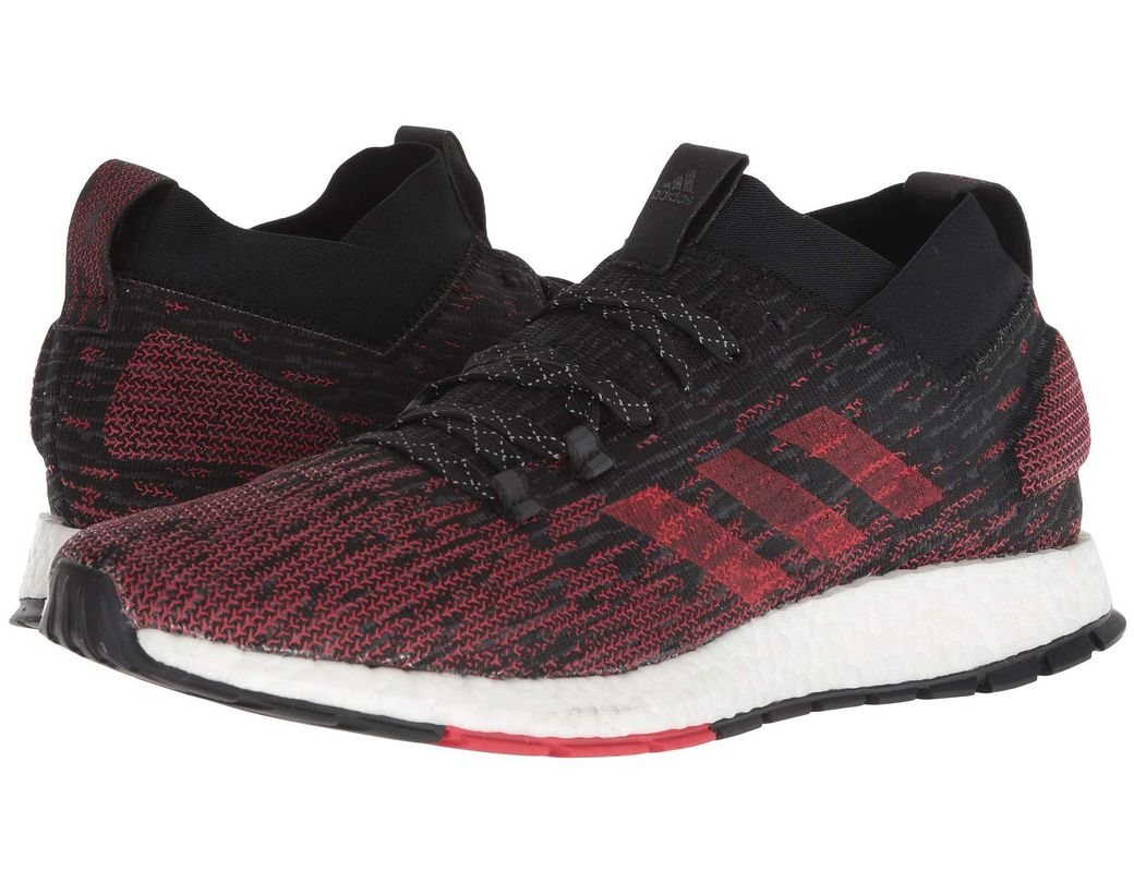bca04fc2f adidas Originals. Pureboost Rbl (carbon core Black active Red) Men s  Running Shoes