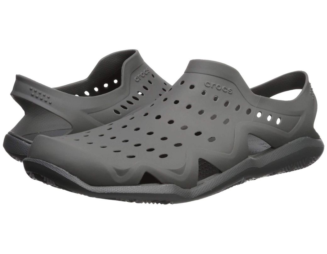 b6b35a3b46b0 Lyst - Crocs™ Swiftwater Wave (slate Grey) Men s Sandals in Gray for Men