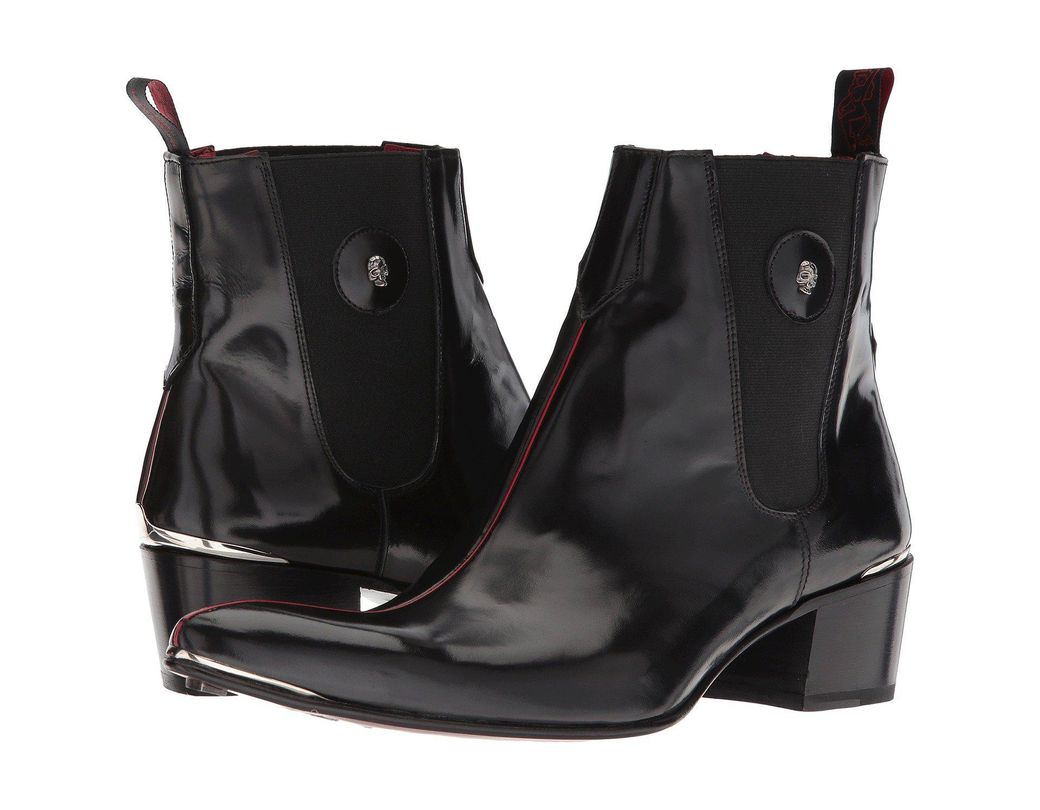 4b314ab099e147 Lyst - Jeffery West Pipe (black Polish) Men s Shoes in Black for Men