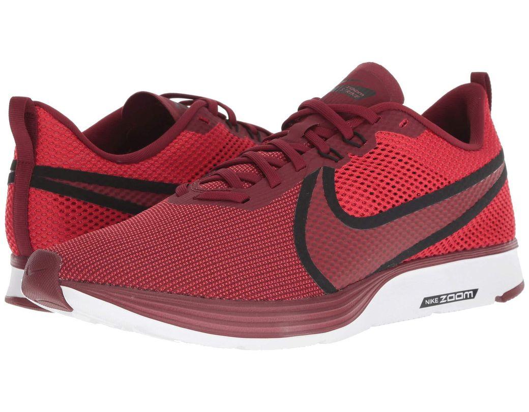 6dab697334c05 Lyst - Nike Zoom Strike 2 Running Shoe (university Red team Red ...