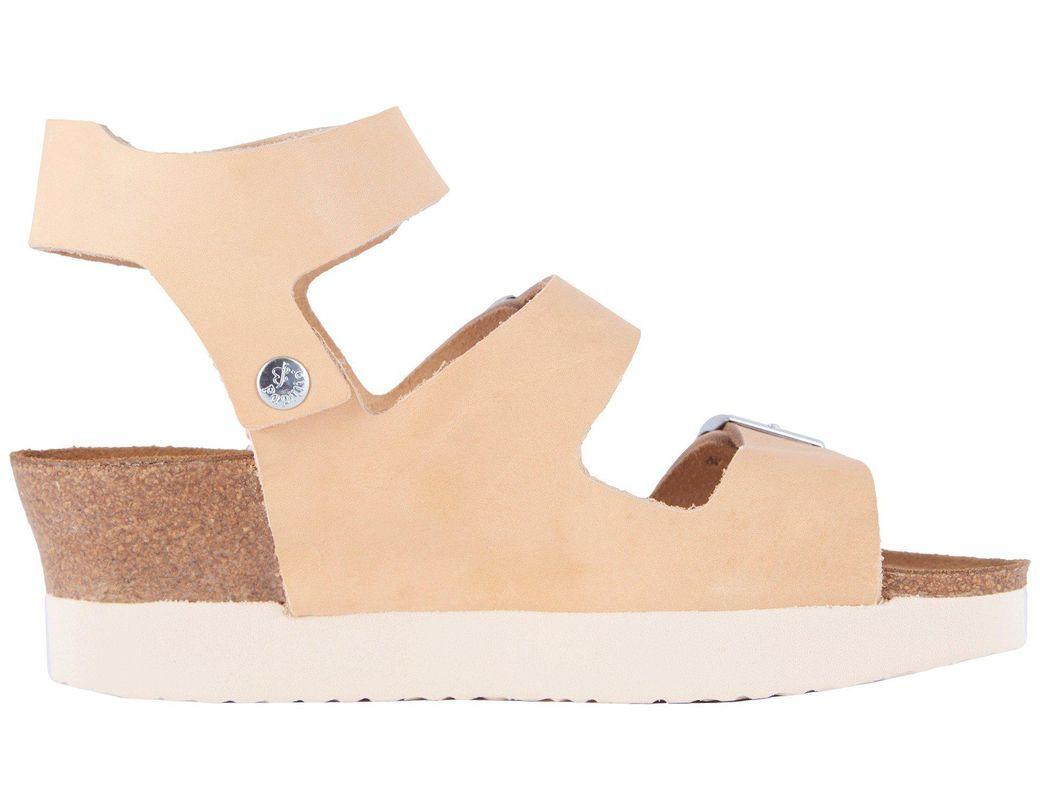 a54f005902bf Lyst - Birkenstock Linnea (anthracite Suede) Women s Dress Sandals in  Natural