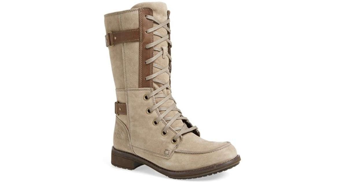 31795d055 The North Face - Brown 'bridgeton Lace' Water-resistant Suede Boot - Lyst