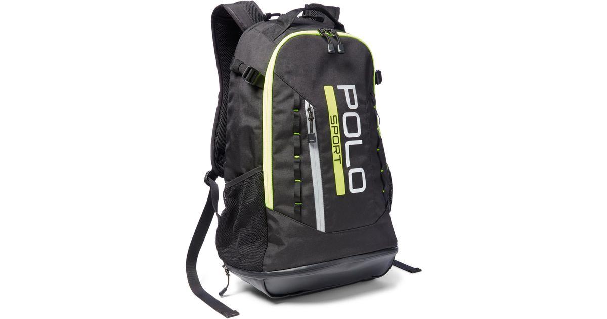 Lyst - Polo Ralph Lauren Polo Sport Backpack in Black for Men 4b33abc935cb7