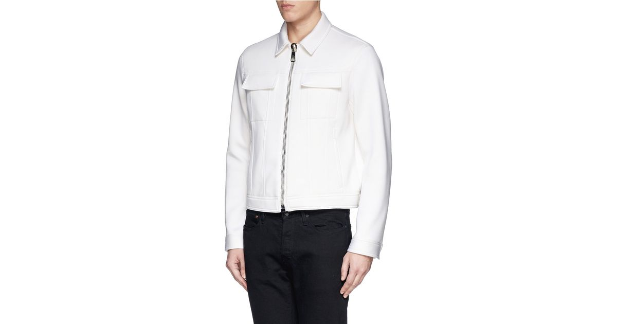 Neil Barrett structtured shoulder shirt Buy Cheap Wide Range Of Cheap Sale Countdown Package Sale Outlet Store Discount Best Prices Marketable Cheap Price MoI4zO2Fcq