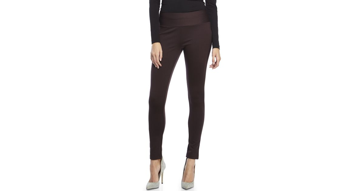 e21ea5f7fec76 Premise Studio Thick Knit Leggings in Black - Lyst