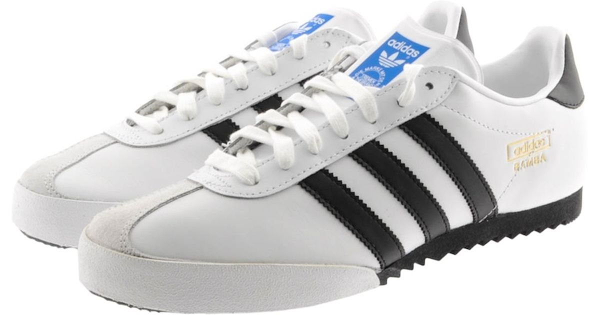 64d740ee0c4bc Lyst - adidas Originals Bamba Trainers Runnin in White for Men