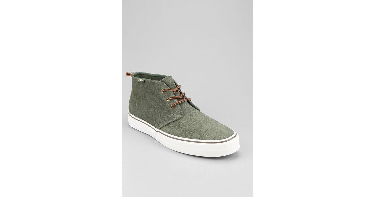 05436d4ed3 Lyst - Vans Decon California Suede Mens Chukka Boot in Green for Men