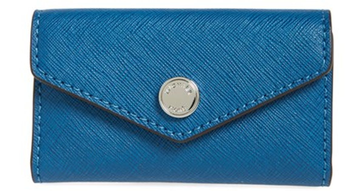 b0b4c41d400a MICHAEL Michael Kors 'jet Set' Travel Key Case in Blue - Lyst