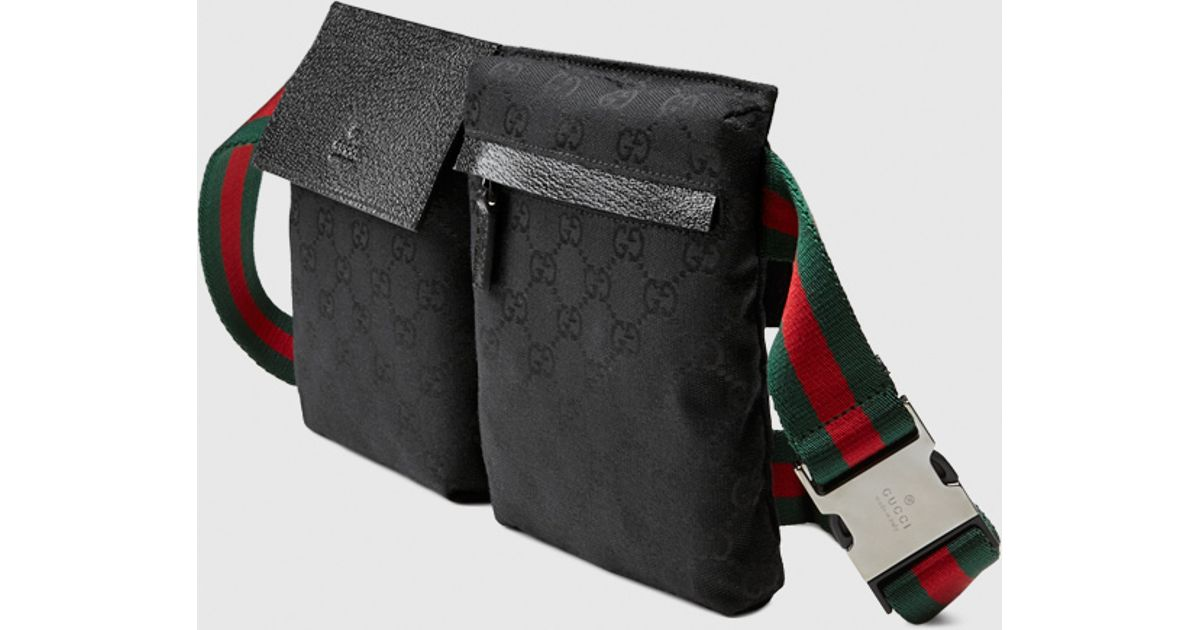 80552c9670ce1c Gucci Original Gg Canvas Belt Bag in Black for Men - Lyst