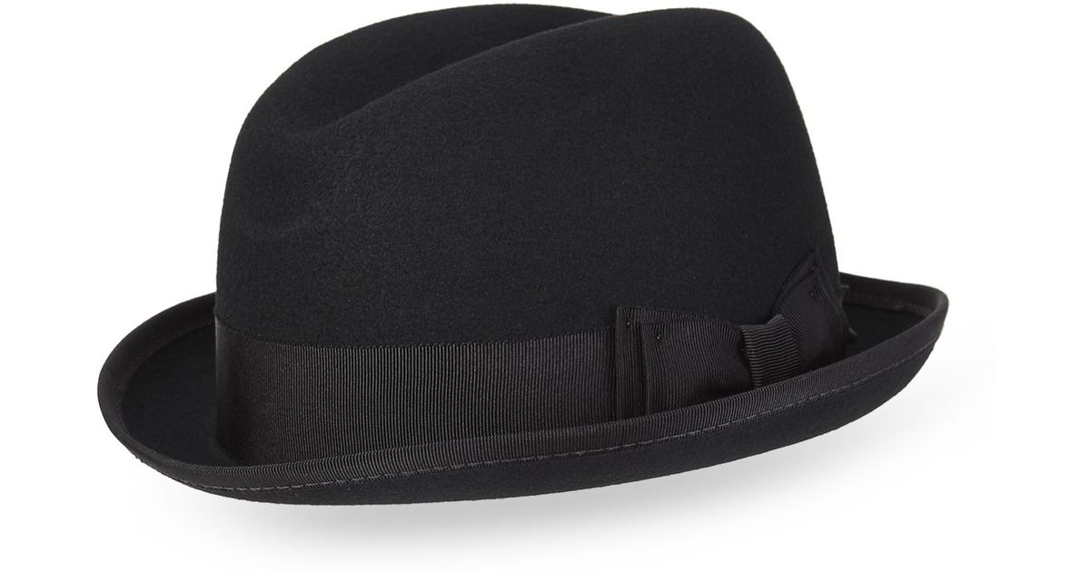 9490d39ca65c8 Bailey of Hollywood Basil Fedora in Black for Men - Lyst
