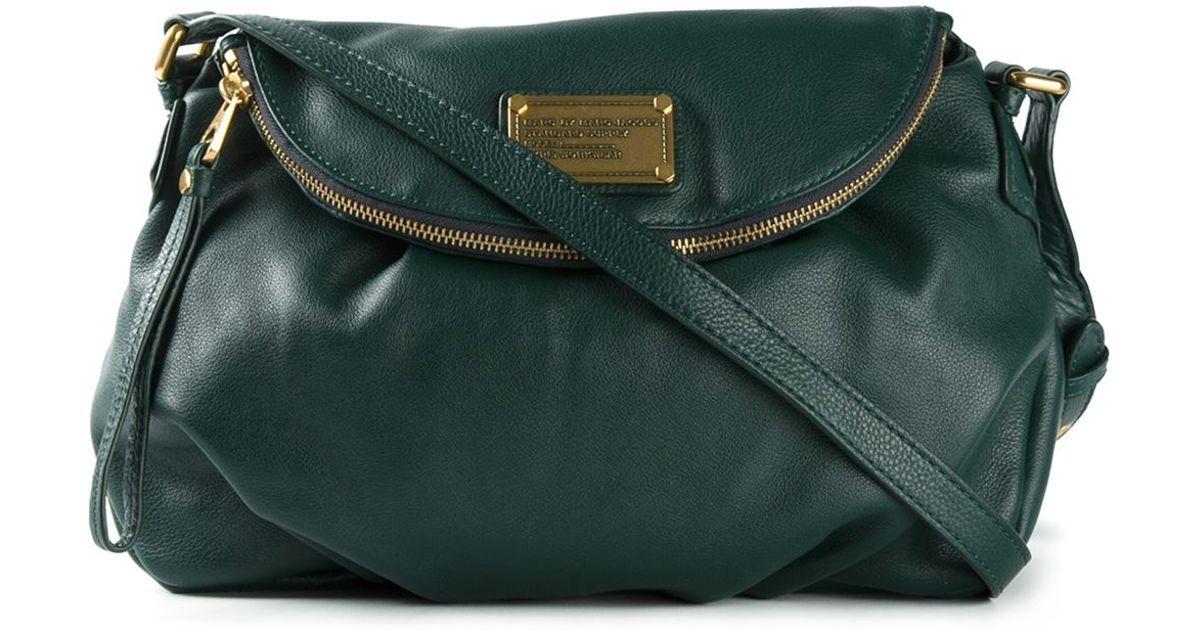 7d66c96c826f Lyst - Marc By Marc Jacobs  Classic Q Natasha  Crossbody Bag in Green