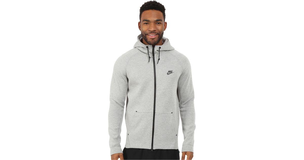 wholesale dealer e6ea0 34c77 Lyst - Nike Tech Fleece Aw77 1.0 Full-zip Hoodie in Gray for