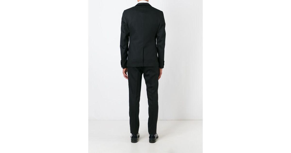 1b04cd68115e Dolce & Gabbana Three-piece Suit in Black for Men - Lyst