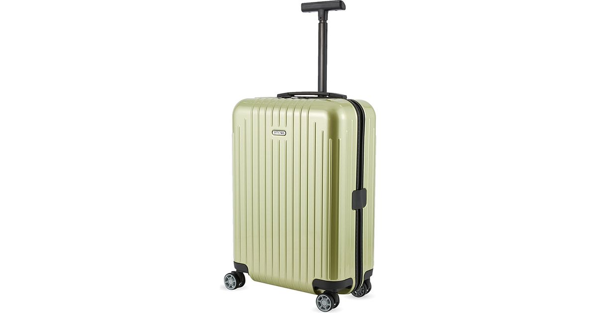 Rimowa Salsa Air Four Wheel Cabin Trolley 55cm In Green Lyst