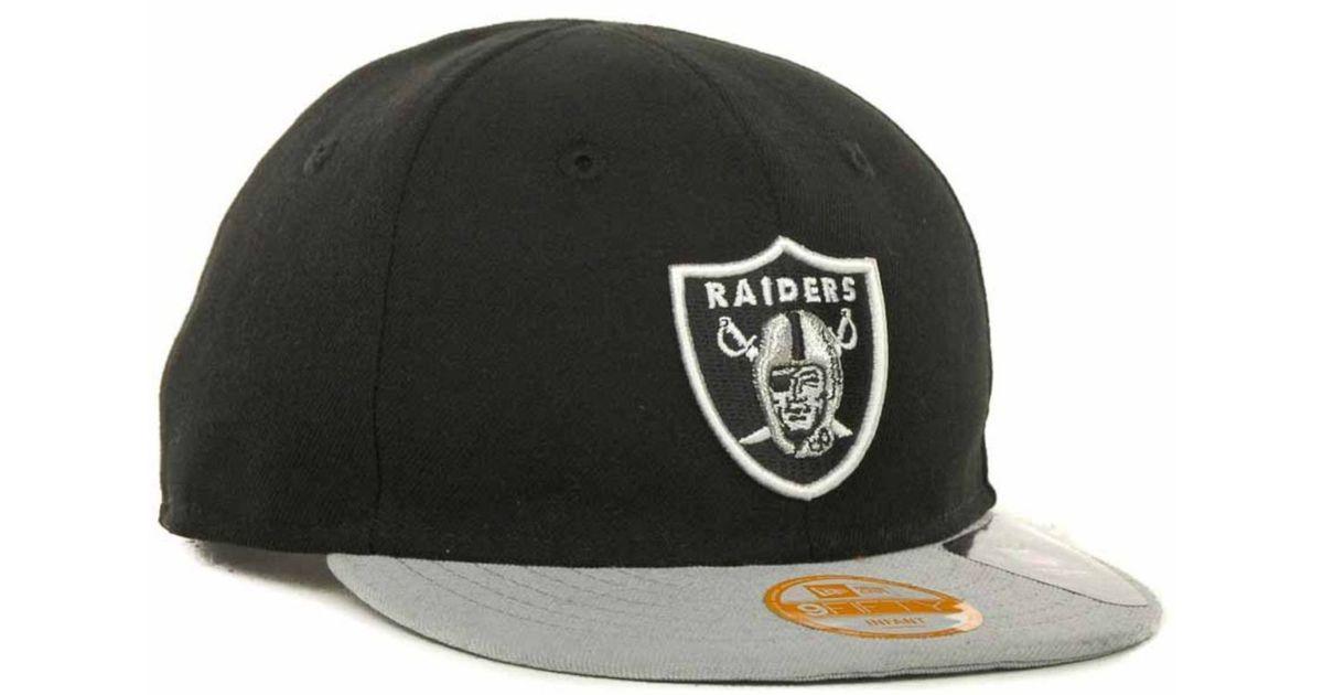c76b2d904a2 Lyst - KTZ Babies  Oakland Raiders My 1st 9fifty Snapback Cap in Black for  Men