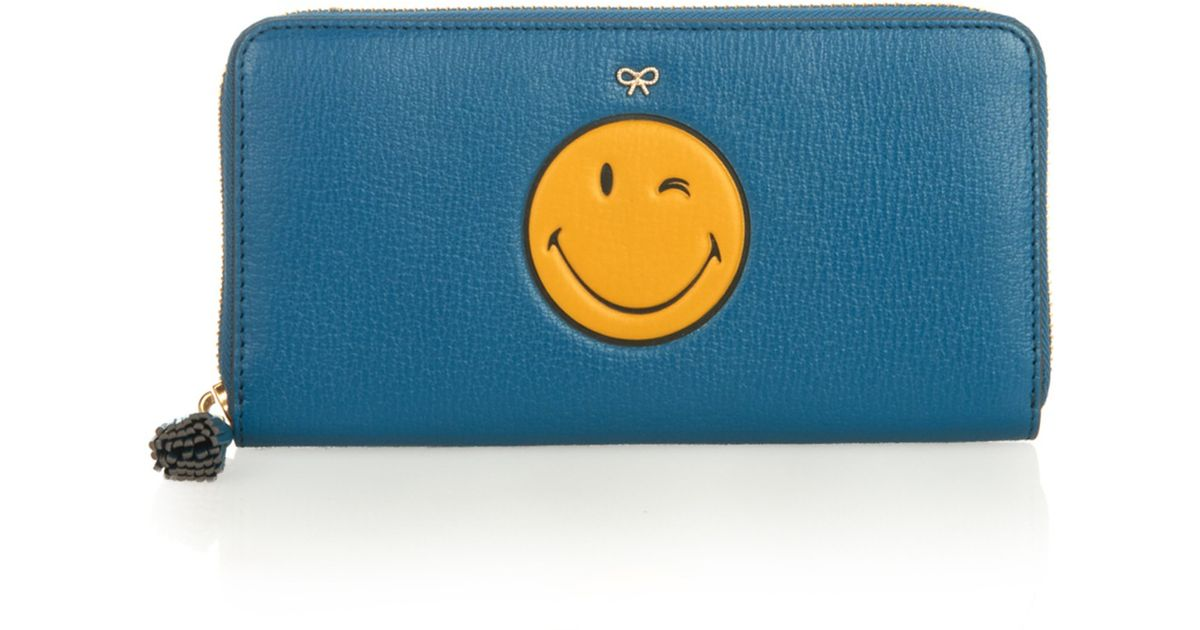 Anya Hindmarch large Smiley wallet Choice Sale Online 9rffvSRL