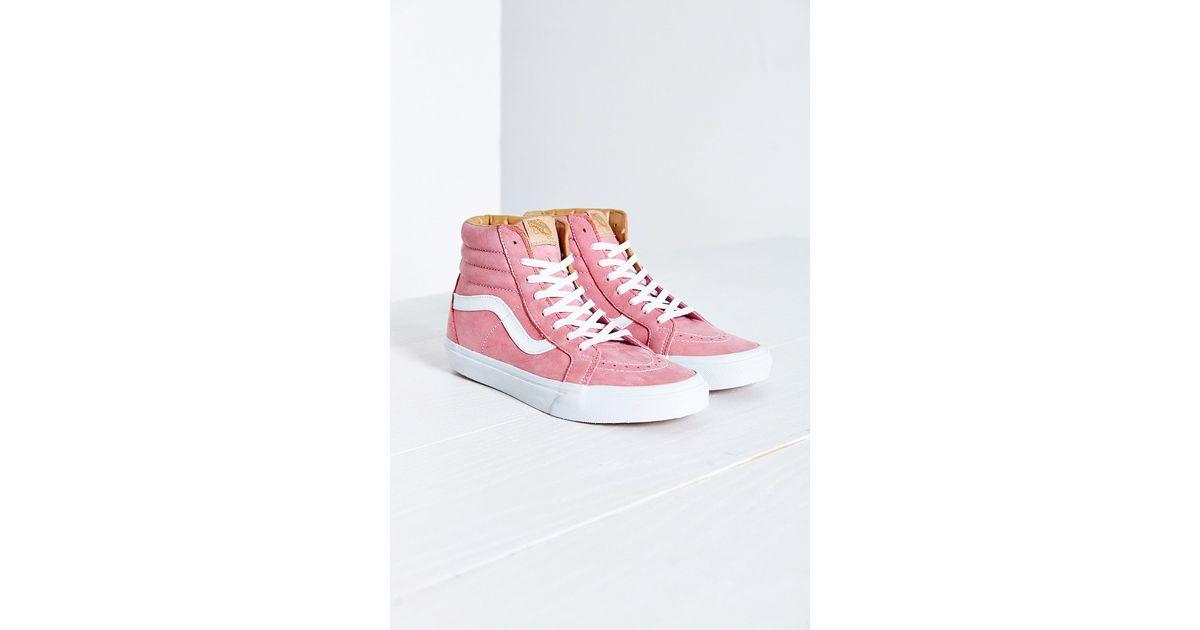 Lyst - Vans Pink Sk8-hi Slim Sneaker in Pink c7d29c6cb1