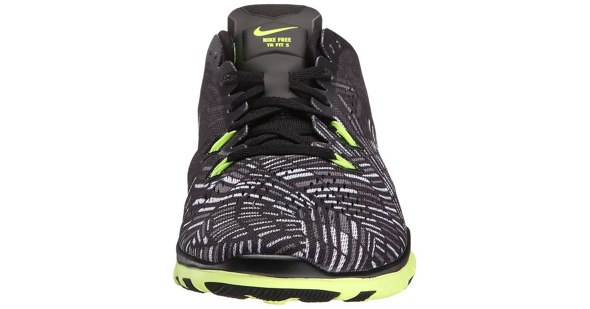 3a213ab28e2 Lyst - Nike Free 5.0 Tr Fit 5 Prt in Black