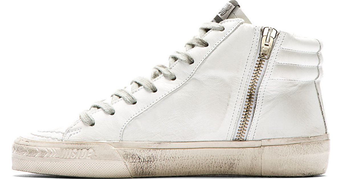 Golden Goose White Studs