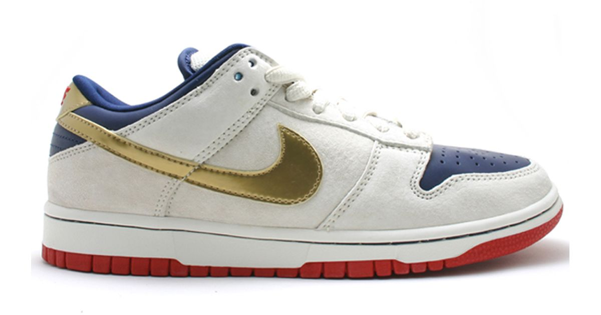bc5e8de10242 Lyst - Nike Sb Old Spice Dunk Low in White for Men