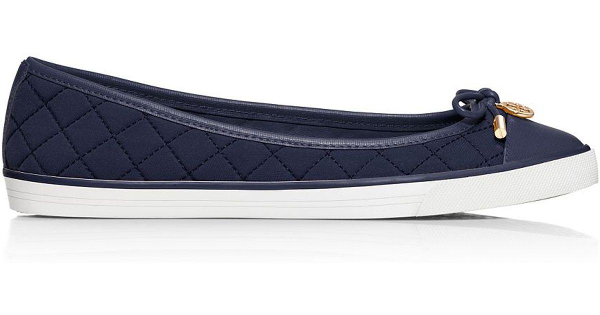 afb9b5bf62071 Tory Burch - Blue Caruso Sneaker - Lyst
