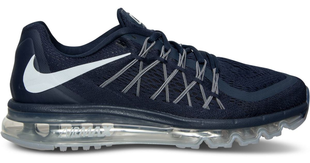 0c2fac39e58 ... top quality lyst nike mens air max 2015 running sneakers from finish  line in gray for