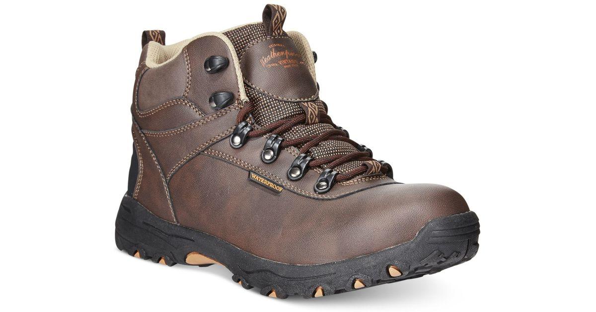 Weatherproof Men S Jackson Hiker Boots In Brown For Men Lyst