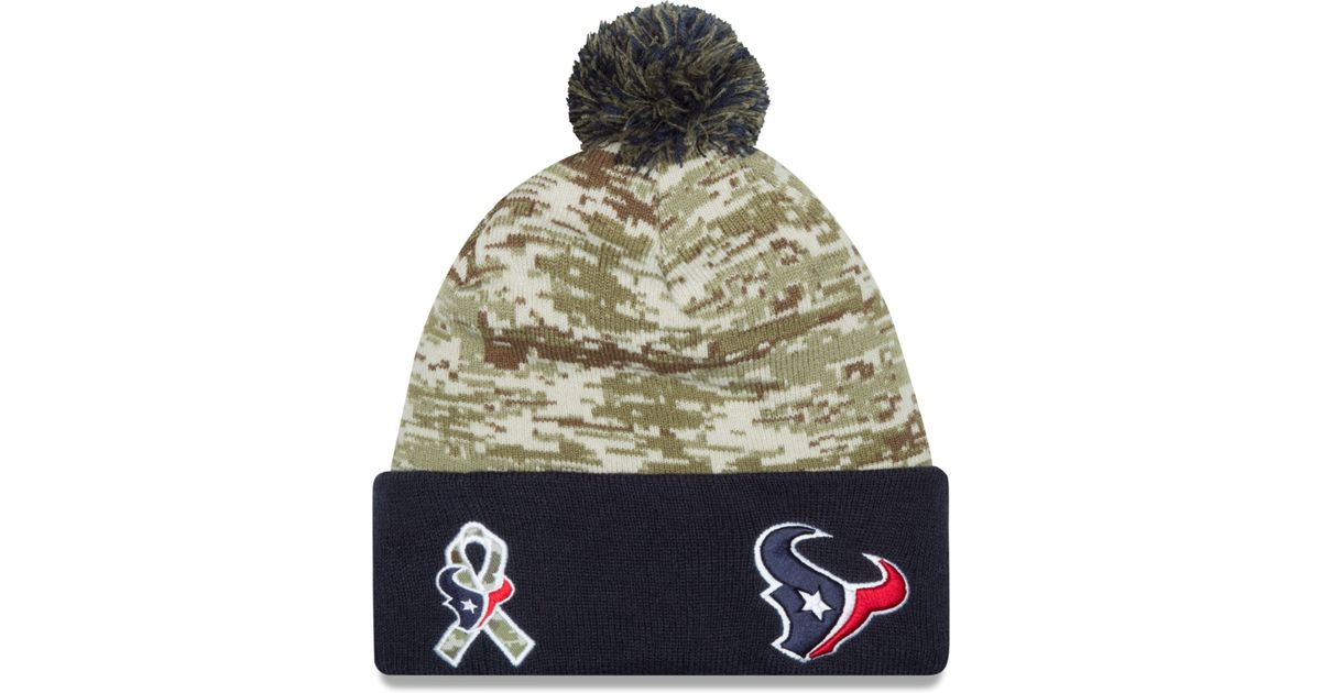 the best attitude 24143 10724 ... where can i buy lyst ktz houston texans salute to service knit hat in  green for