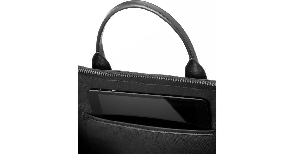 95c5ee6ad3d8 Lyst - Troubadour Day Bag Black in Black for Men