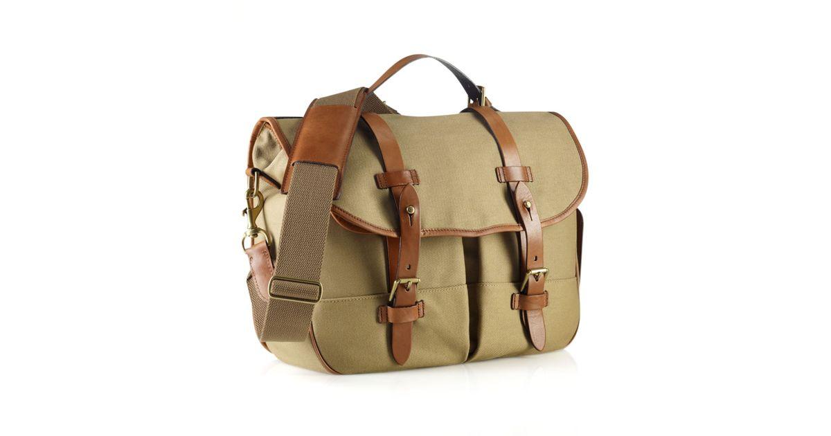 ... inexpensive polo ralph lauren natural core canvas messenger bag for men  lyst 7984c 05fdc ... 1a4cf61808024