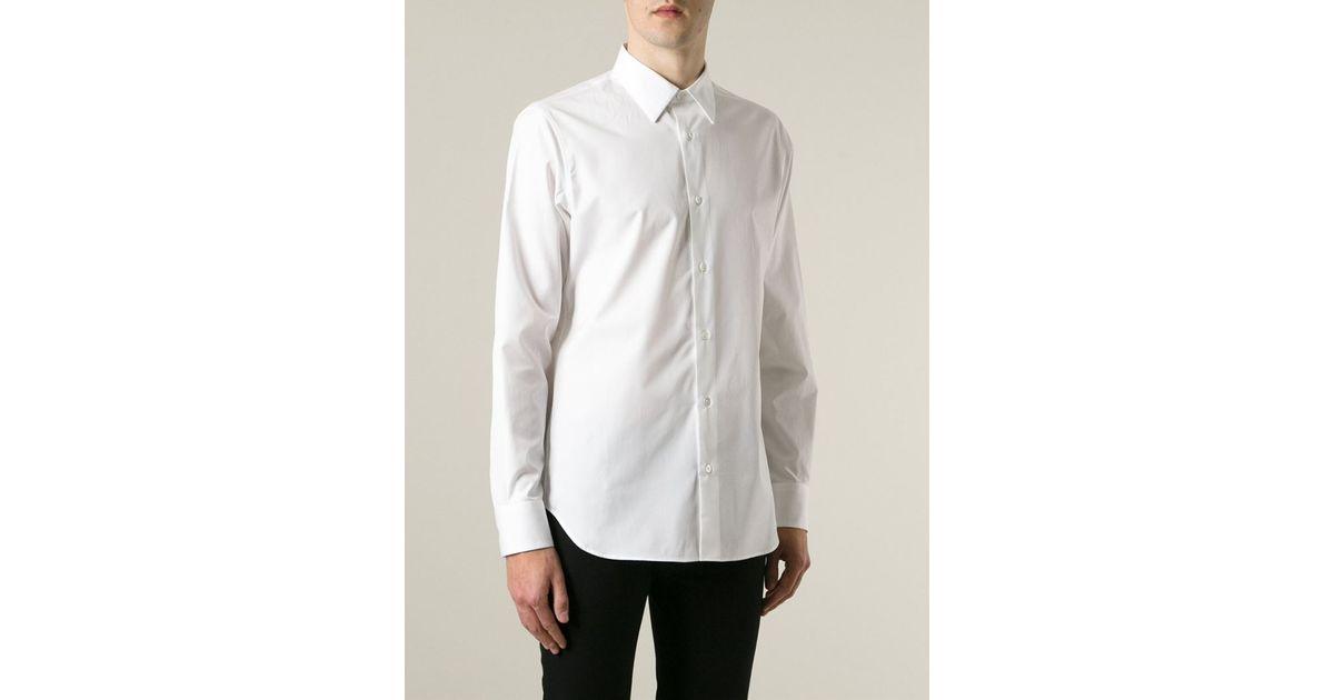 Buy Cheap Geniue Stockist Cheap Price Wholesale White Byron Shirt Ann Demeulemeester Free Shipping Fake thkh4F