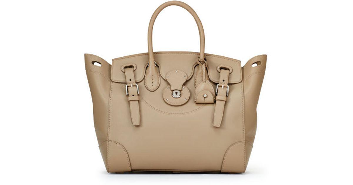 20297f1c266d Lyst - Ralph Lauren Soft Ricky Bag in Brown