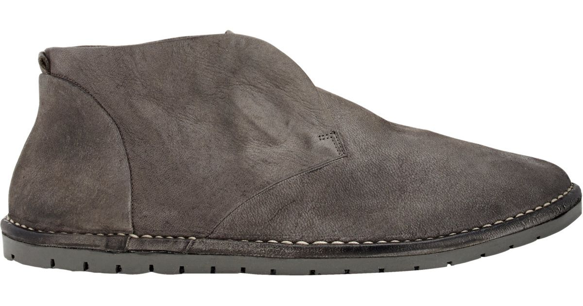 Marsèll Distressed Chukka Boots in Gray for Men   Lyst
