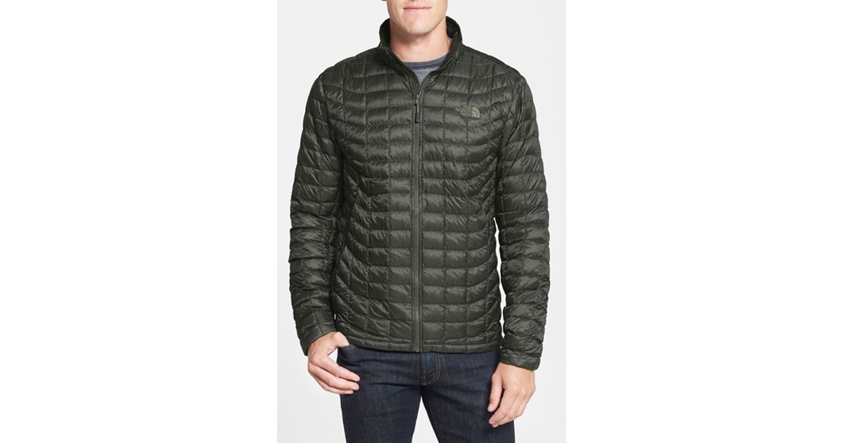 1716dde764f Lyst - The North Face Primaloft Thermoball Full Zip Jacket in Green for Men