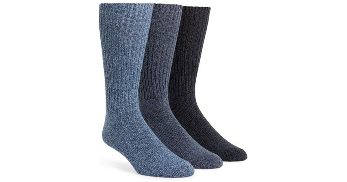 Calvin Klein Casual Socks In Blue For Men Lyst
