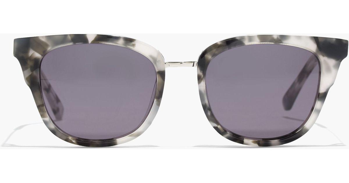 d2f1d20972 Lyst - Madewell Playlist Sunglasses in Black