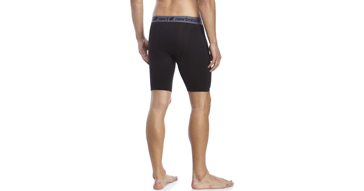Lyst - New Balance Game On Compression Shorts in Black for Men 36e6b9e6d9f3