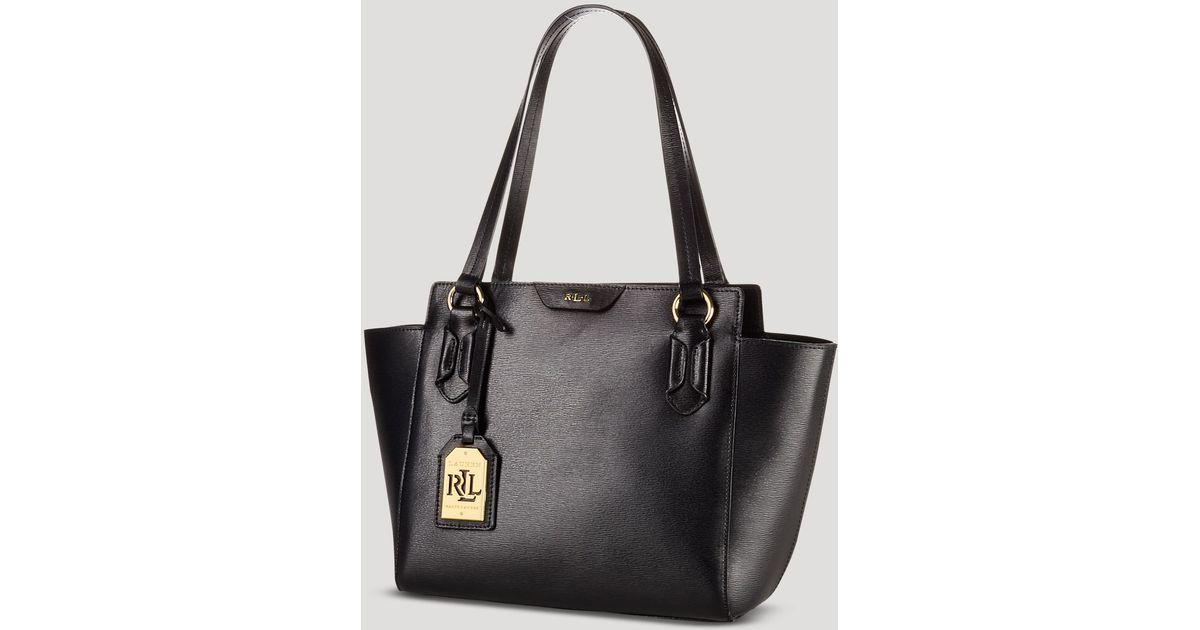 Lyst - Ralph Lauren Tote Tate Modern Shopper in Black 79a0079cbe