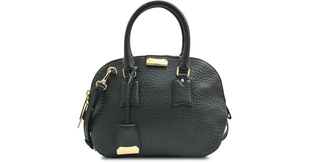 6467f086d771 Lyst - Burberry Small Orchard Bag in Black