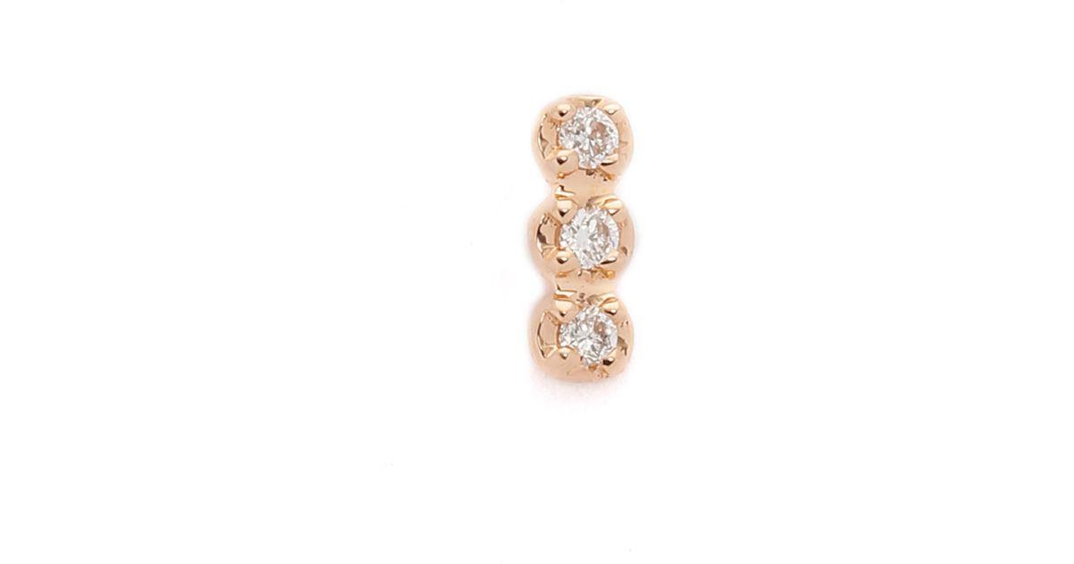 Solo Fairy Magic Earring in 18K Rose Gold Ginette NY WJfbBi0vm