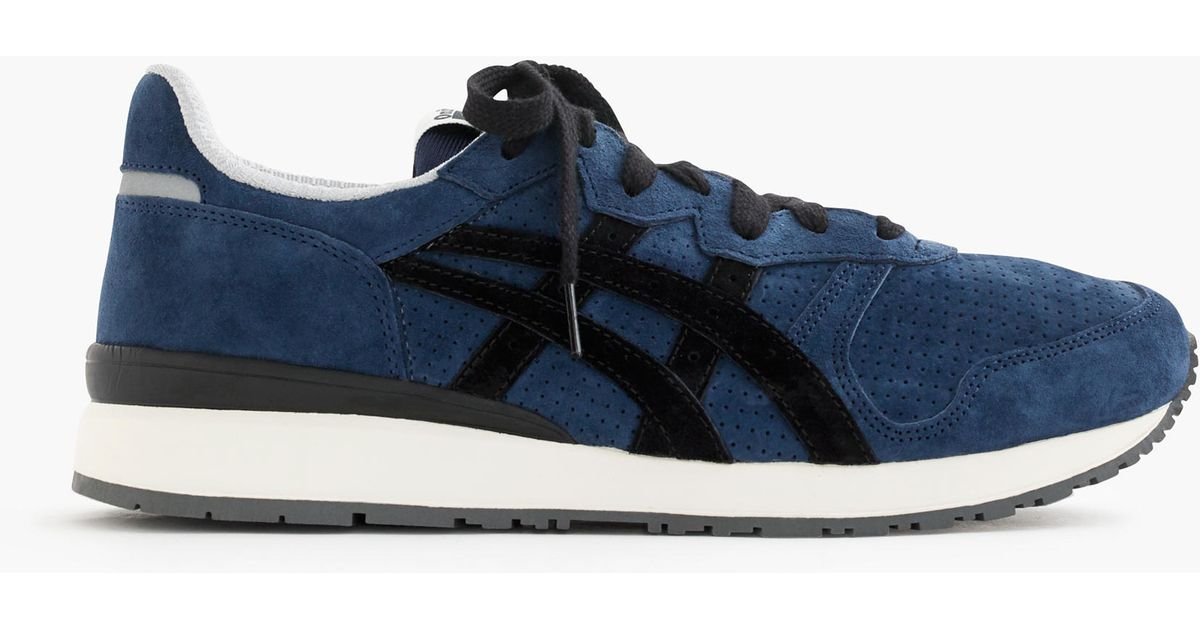 13046675e766 Lyst - J.Crew Onitsuka Tiger Tiger Alliance Sneakers in Blue