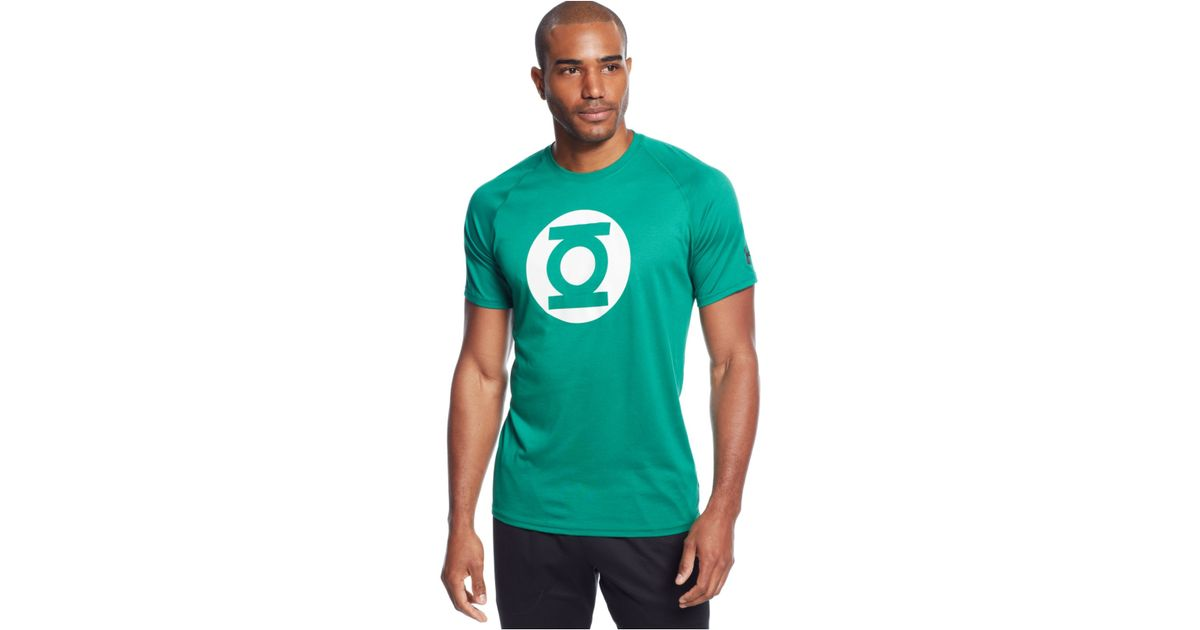 armour alter ego green lantern t shirt in green for lyst