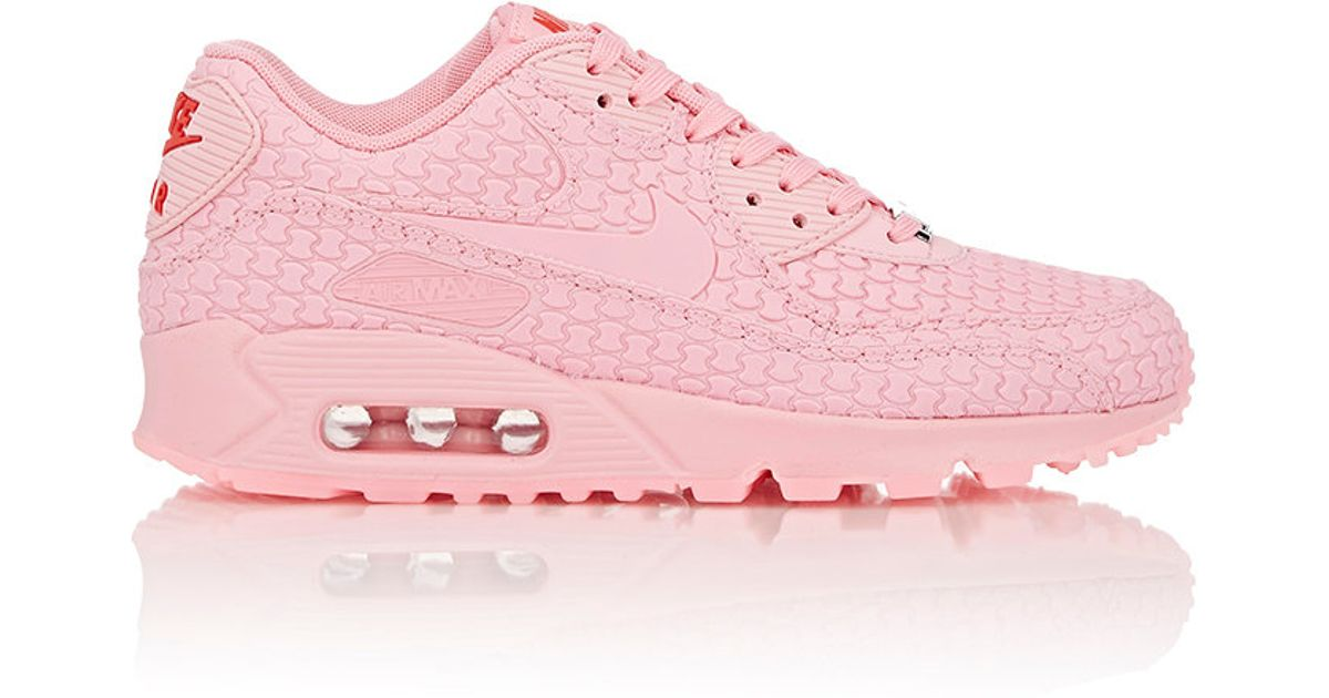 cfbe4893cefc ... sale lyst nike air max 90 dmb qs shanghai sneakers in pink 785b1 009d2