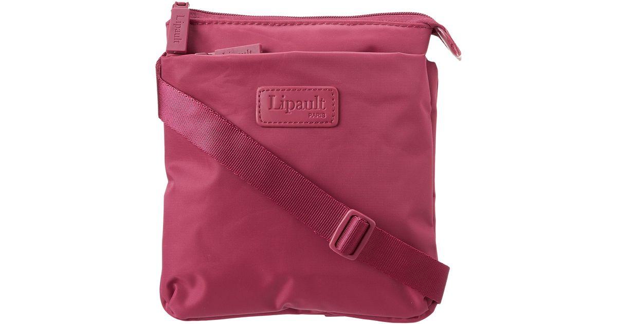 d922693687 Lyst - Lipault Jpf Series - Medium Cross Body Bag in Pink