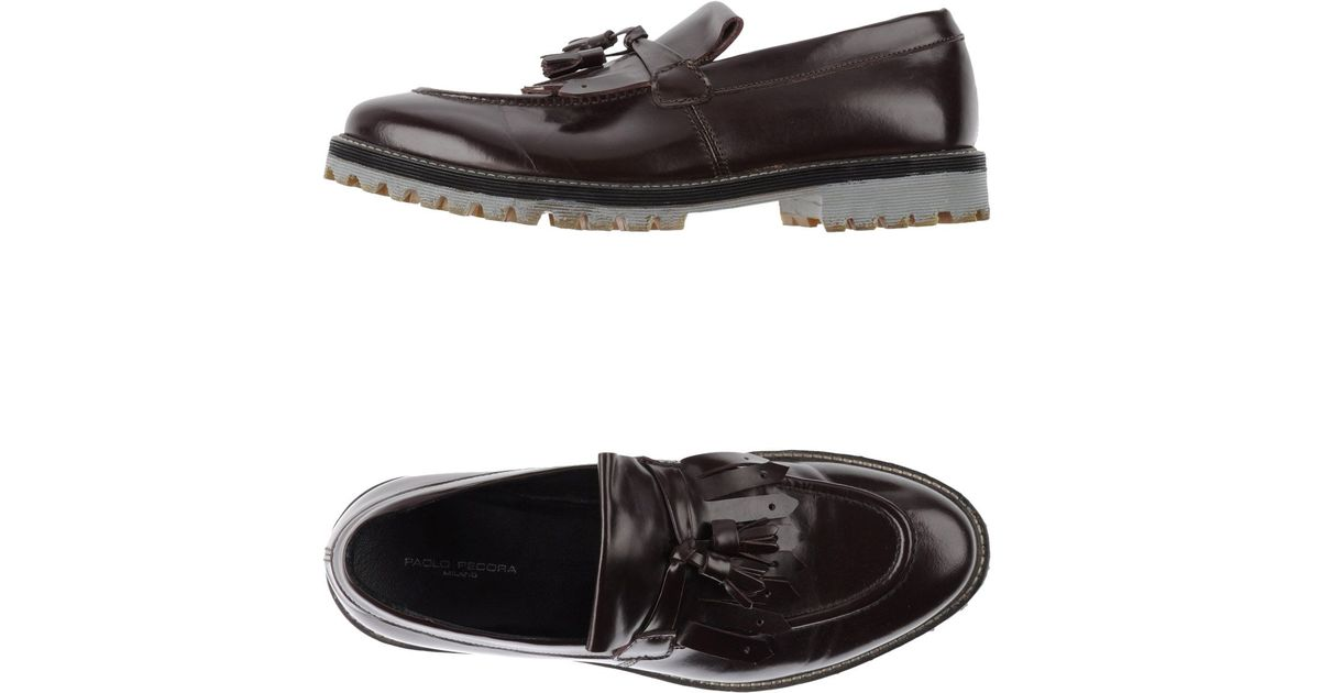 Lyst Men Paolo for Purple Moccasins in Pecora P0rxaPqY