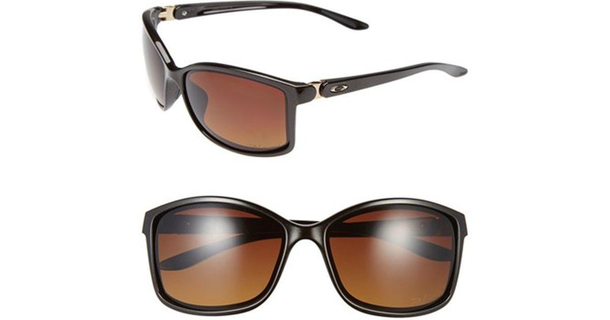 1da2b5fb76 Lyst - Oakley  step Up  62mm Polarized Sunglasses in Brown