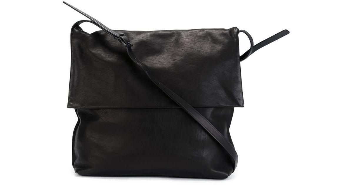 efd8879ea3e8 Lyst - Yohji Yamamoto Large Messenger Bag in Black for Men